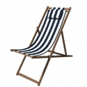 Deckchair fabric stripe