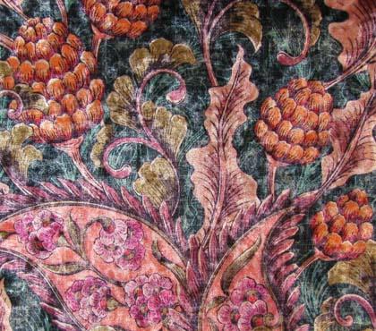 Ice Velvet Floral Vintage