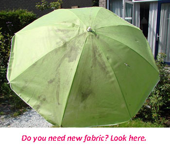 Parasol cloth