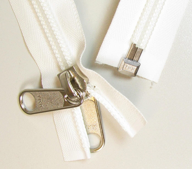 Extra Long divisible zipper 10mm
