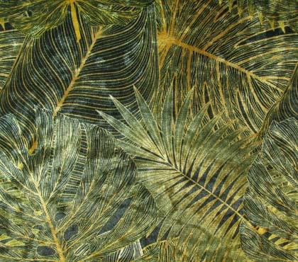 Ice Velvet Dashing Leaves